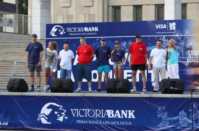 Victoriabank şi Visa dau startul Jocurilor Olimpice la Chişinău