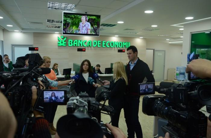 Banca de Economii a inaugurat Filiala nr.50