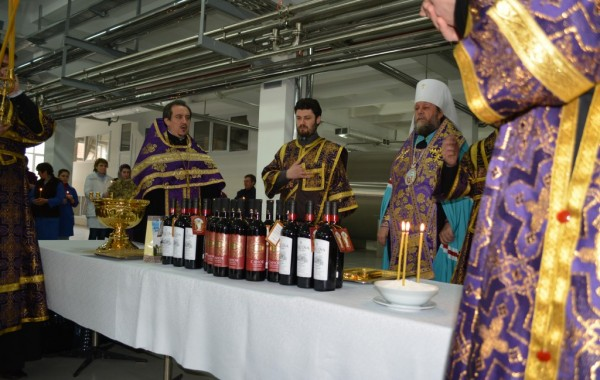 Evenimentul de sfinţire a vinului pastoral Cricova