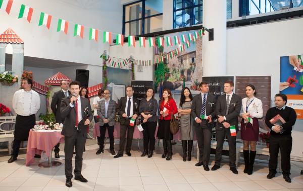 Zilele culturii italiene în Aeroportul Internațional Chișinău