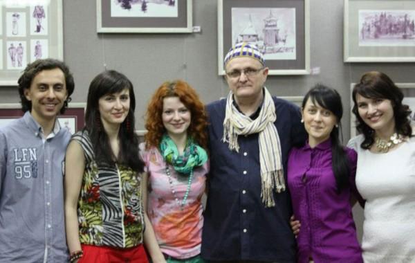 Expoziția  «Tablouri în Vin» organizată de PRofile și Asociația Ziariștilor Economiști