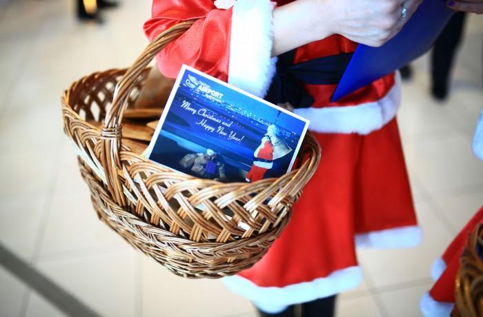 Magia sărbătorilor de iarnă alături de Avia Invest, pe Aeroportul Internaţional Chişinău