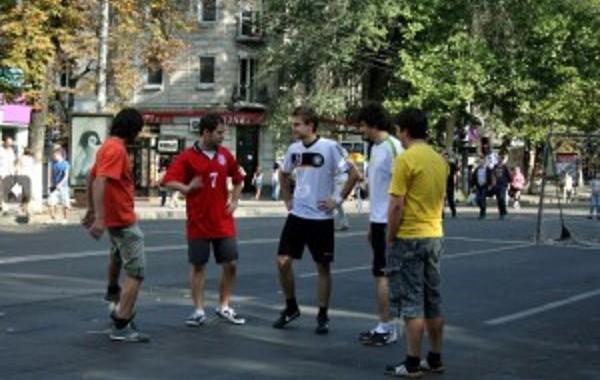 Football Flashmob Simpals