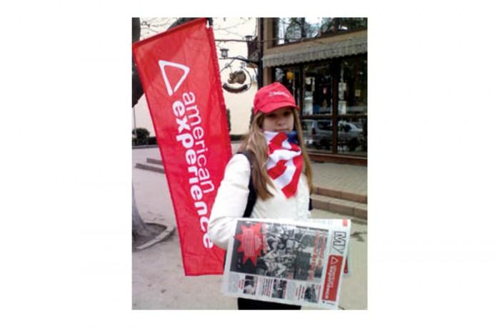 Un ziar pentru studenţii care visează să ajungă în America