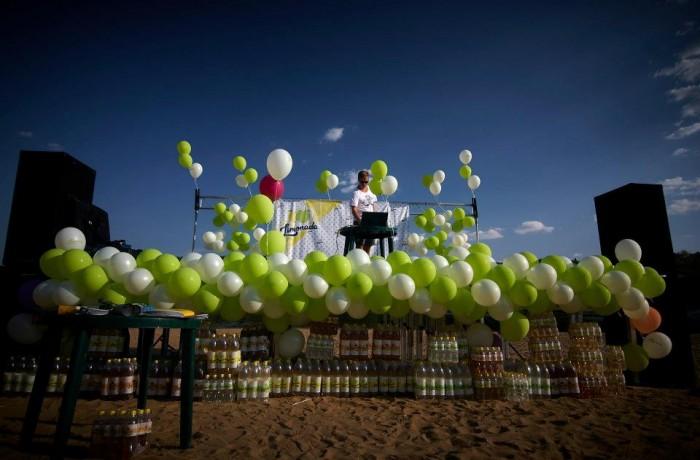 """""""Cerul în buline"""" – Lansarea băuturii răcoritoare Limonada"""