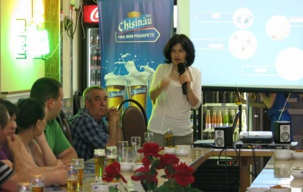 """Turul Berii Proaspete de la Berea """"Chişinău"""" a ajuns în 5 raioane din Republică"""