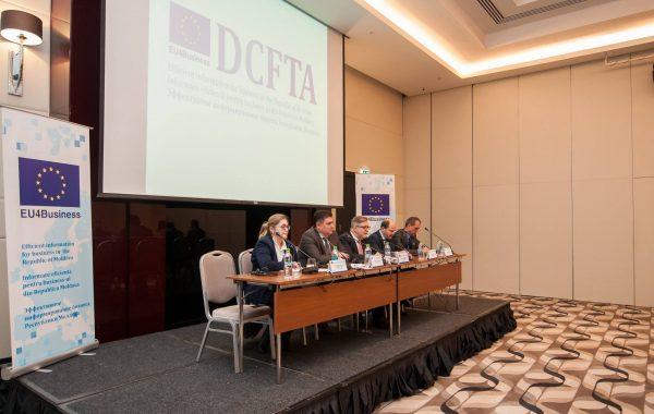 """PRofile a organizat conferința """"DCFTA – Informare eficientă pentru business-ul din Republica Moldova"""""""