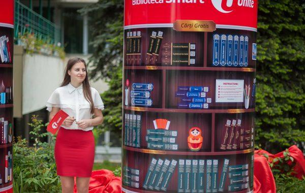 Agenția PRofile a lansat un proiect inedit pentru operatorul Unite – Biblioteca Smart